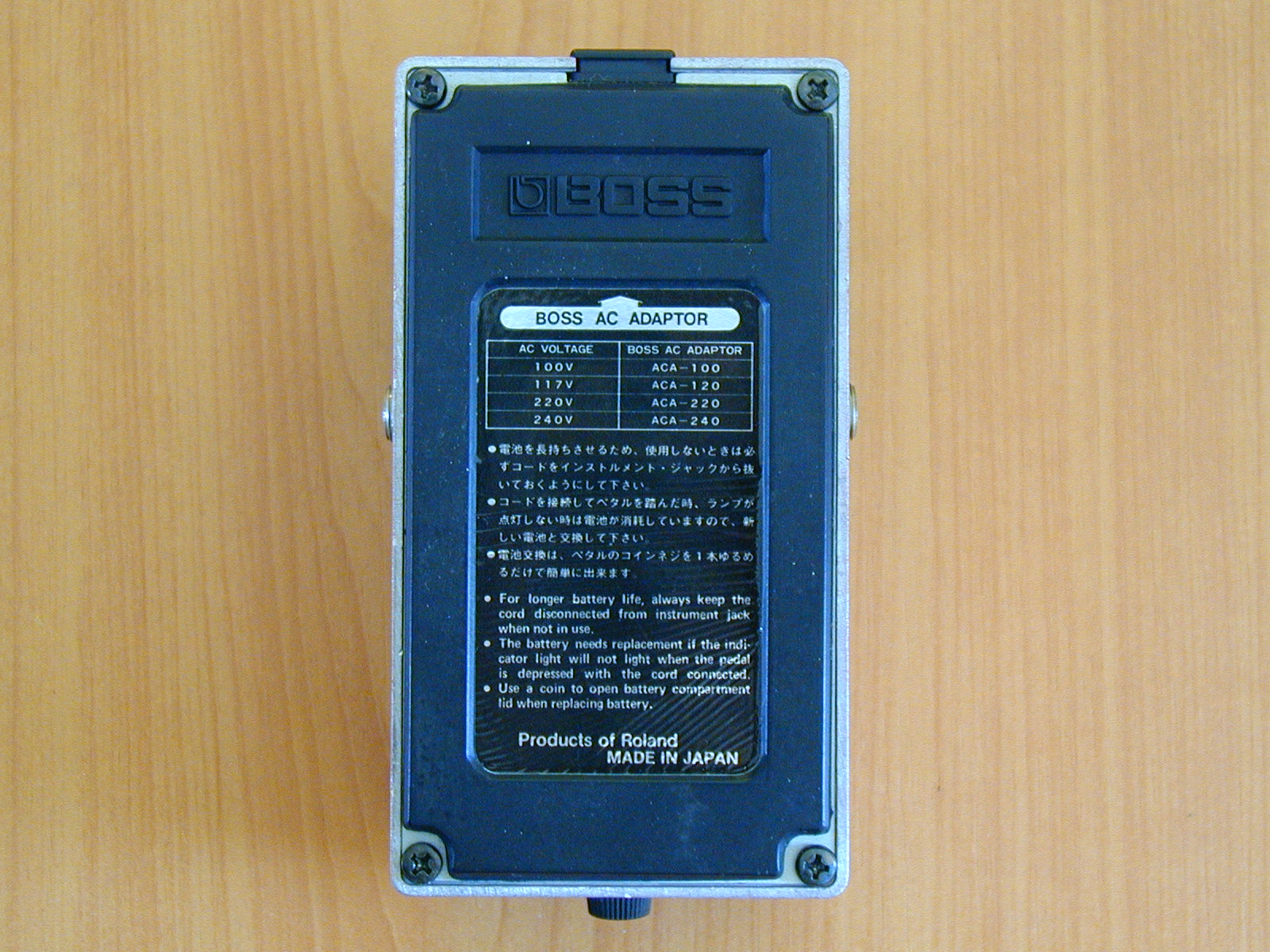 5)Boss BF-2 Black label 81´.JPG